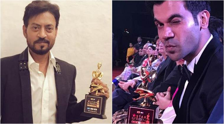 Star Screen Awards: Irrfan Khan wins Best Actor for 'Hindi Medium'