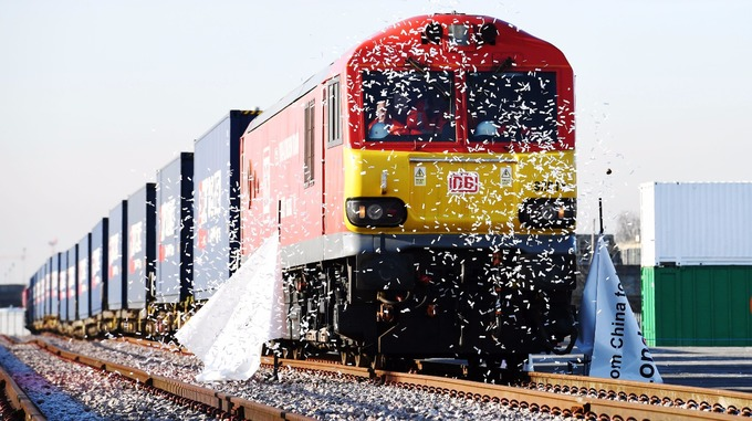 First direct London-China train completes 12,000km-run