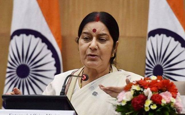 External Affairs Minister Sushma Swaraj to represent India at BIMSTEC Foreign Minister's meet