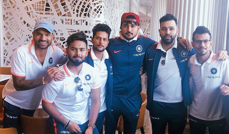 Team India departs for Australia