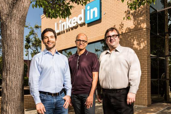 Microsoft to acquire LinkedIn for $26.2 billion in biggest ever tech deal