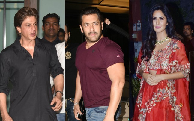 Salman Khan celebrates early Diwali with Shah Rukh Khan, Katrina Kaif and other Bollywood celebs