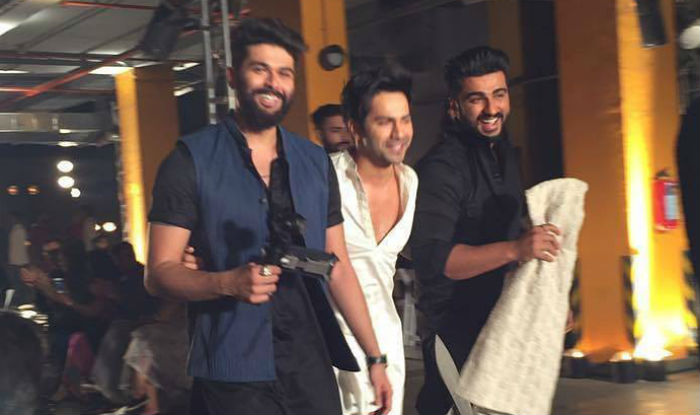 Lakme Fashion Week 2017: Varun Dhawan and Arjun Kapoor walked the ramp for designer Kunal Rawal