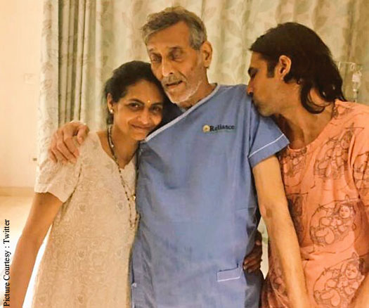 Vinod Khanna hospitalised; his hospital picture goes viral
