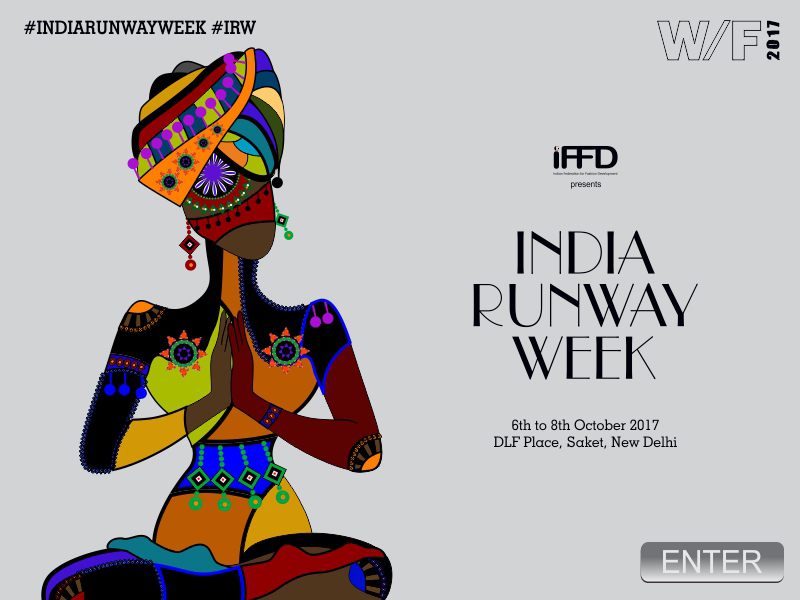 IFFD's India Runway Week winter festive 2017 designer's lineup announced