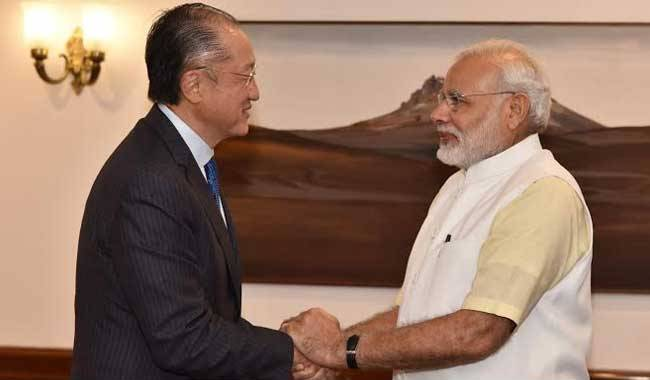 World bank chief meets Modi, promises India $1 bn for solar projects