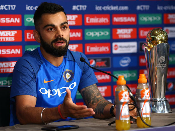 Everyone wants to see an India-England final :  Virat Kohli
